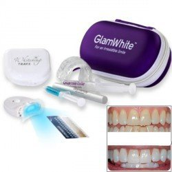 Kit Blanqueador Dental Glam White + Lápiz Blanqueador