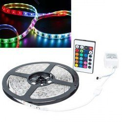 Tira de LED Flexible 5m Multicolor con Mando a Distancia, BandDLED
