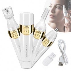 MINI EPILATORE VISO E CORPO FLAW GOLDEN