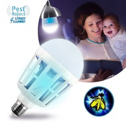 LAMPADINA ANTI INSETTI PEST REJECT LIGHT ZAPPER