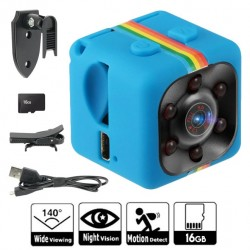 POCKET MINI CAM 16 GB-SD CAMERA CON VISIONE NOTTURNA