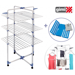 Stendino Verticale Clean House + Gancio 6 in 1