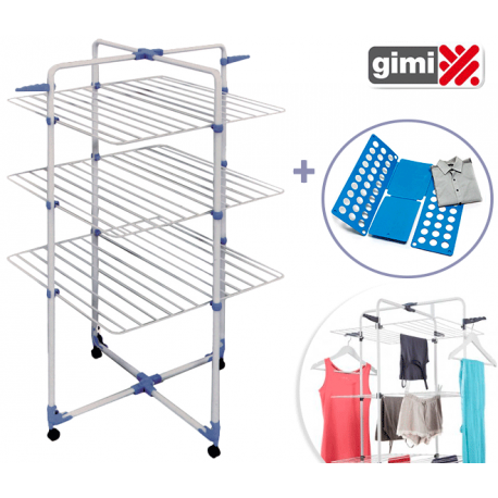 Clean house stendino verticale gancio 6 in 1 compralo for Stendino alto