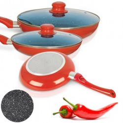 PACK DI 3 PADELLE CERAMIC CHEF PAN