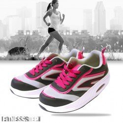 FITNESS STEP GREY/PINK
