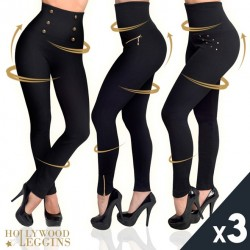 DIVA PANTS - PACK 3 HOLLYWOOD LEGGINGS