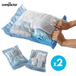 ROLL BAGS SIZE S SETS OF 2PCS - NYLON / POLYETHYLENE - W35 × L50 CM - N.W 0,100 KG